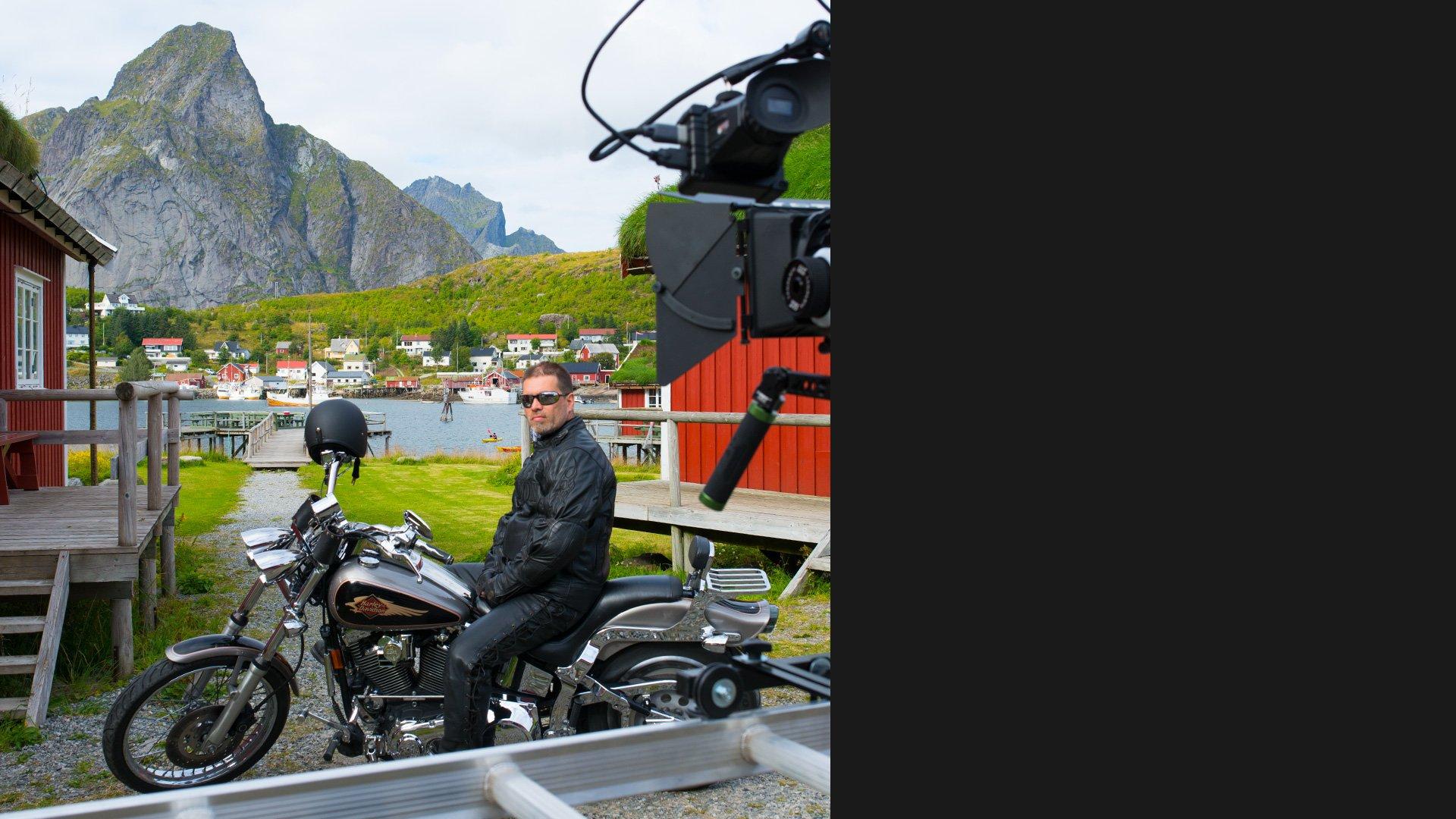 Filmproduksjon Reine, Lofoten