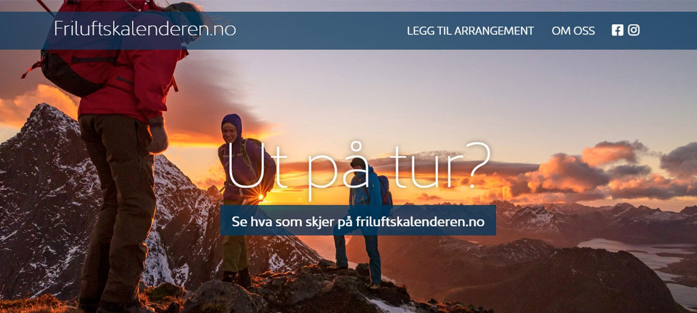 Nettside for Lofoten Friluftsråd
