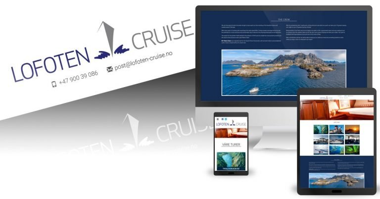 Lofoten Cruise med ny profil og nettside