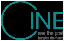 Logo - CINE see the past, imagine the future